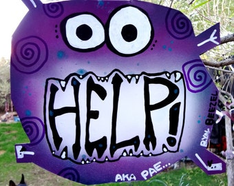 Help Monster: Metal Art Eats Pain, Anguish and Woes