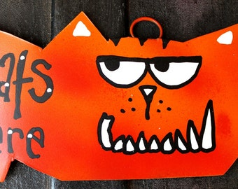 Spoiled Pets Signs - Spoiled Dogs, Cats, Rats or Create Your Own Custom Sign - MEDIUM