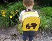 RESERVED for MYOPICMOMMA -Custom Toddler Backpack