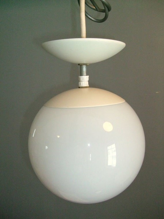Eames Panton Era Globe Light Mid Century Modern Orb
