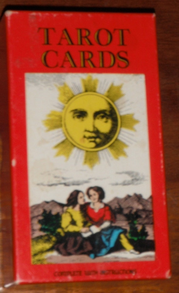 Antique Tarot Card The Fool: Vintage Swiss Tarot Cards By AG Muller CIE 1JJ