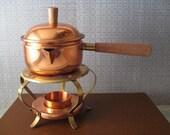 Copper Sauce Warmer