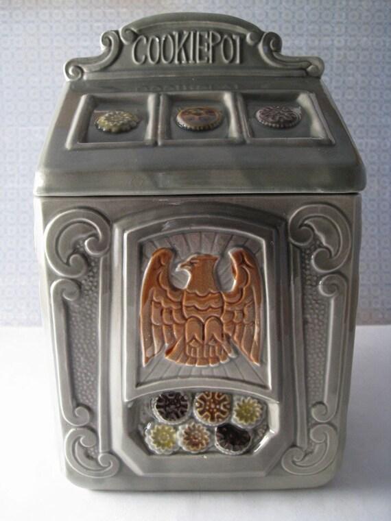 Slot machine cookie jar
