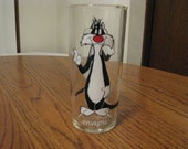 Vintage Pepsi Collector Series Glass 1973 Sylvester