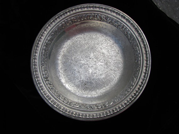 Vintage Reed & Barton Silverplate Dish 1301