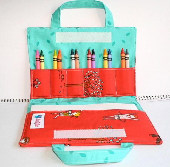 Little apples - Crayon Wallet - Large - Artist Wallet
