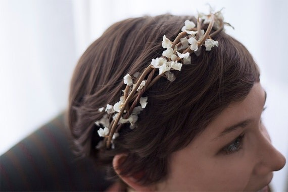 Prarie - Natural flower crown