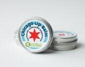 Vegan Chicago Peppermint Hemp Seed Oil Lip Balm -- 2 Pack