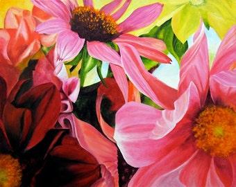 Flower Prints, Posters, Wall art, fine art prints, flowers, signed prints,