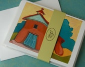 Adobe Churches of New Mexico - Set of 6 Mini Prints/Art Cards