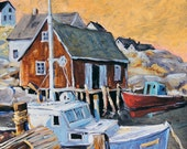 Peggy's Cove 01 Seascape painting