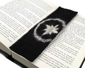 Felted Bookmark Compass Black