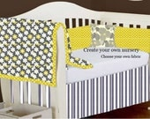 Create your own nursery bedding -Michael Miller Fabric Collection