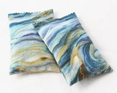 Lavender Sachets, Scented Drawer Sachets, End of Year Teacher Gifts, Art Abstract