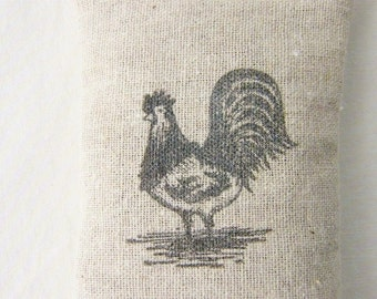 Year of the Rooster Door Hanger Lavender Sachet, Rustic Farmhouse Decor, Housewarming Gift