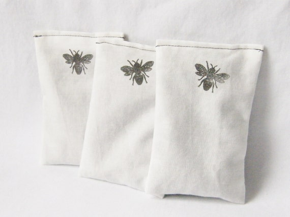 Lavender Dryer Sachets Organic Laundry Honey Bees Eco-Friendly Clean