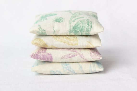 Pastel Butterfly Mini Pillows, Spring Gifts for Her, Lavender Scented Sachets