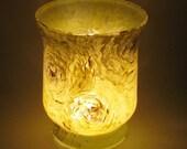 Lemon colored Hand Painted Glassware WW
