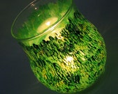 Green Green Grass Themed Hand Painted Glassware