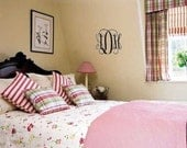 Personalized Dorm Home Vinyl Monogram Wall Decal