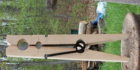 Smaller giant clothespin 18 inches tall