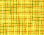 Yellow Orange Plaid - Yardage Available