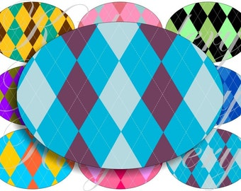 Argely patterns images large oval for belt buckle and more digital collage sheet No.467