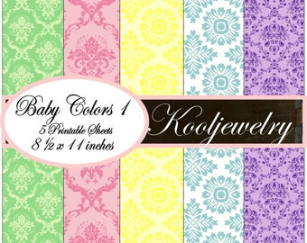 Baby Colors paper pack - No.52