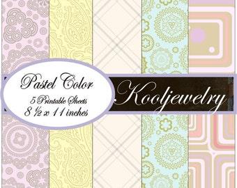 Pastel Colors paper pack - No.27