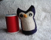 SALE Professor Plum Owl   sitting