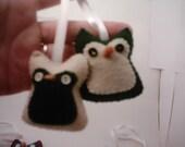 SALE 2 Matching Owl hangers