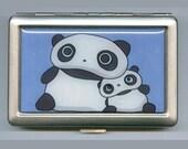 Tare Panda Bear Cigarette or Card Case or Wallet