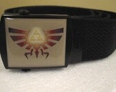 Zelda The Legends Of Family Crest Adjustable Size Belt