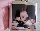 Nosferatu Vampire Liquor Hip Flask Stainless Steel 6 ounce