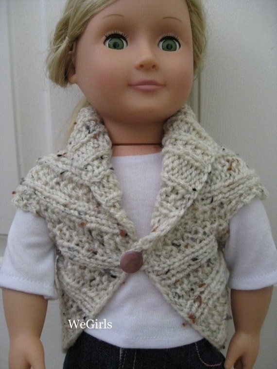 Free Knitting Patterns For 18 Dolls : Knit Pattern for 18 inch American Girl Dolls Turtleback by WeGirls
