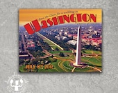 Washington DC Postcard Save the Date
