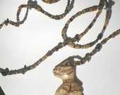 RAWR (agate dinosaur necklace)