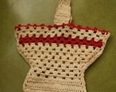 Vintage Crocheted Basket