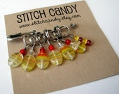 Wind It Up - Set of 7 Stitch Markers