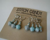 Art Deco - Set of 7 Stitch Markers