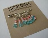 Sweetarts - Set of 7 Stitch Markers