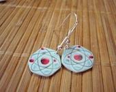Atom Earrings - Science Geek