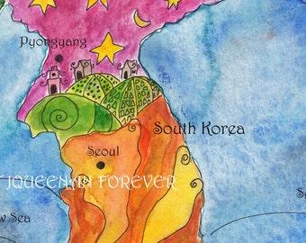 Korea Adoption Map
