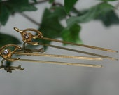 Stick Pins- Lot of 2 Vintage stick pins