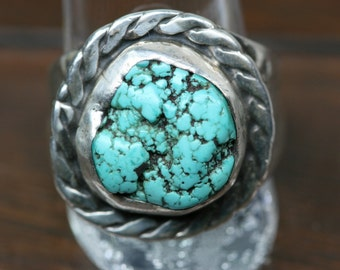 Ring Vintage Sterling and Turquoise