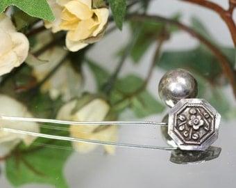 Stick Pin-Vintage Sterling Stick Pin