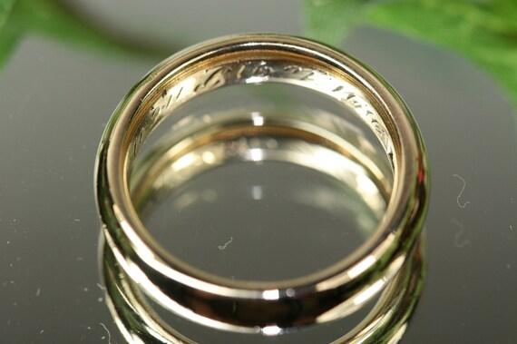 Antique 18k Gold Ring - Wedding Band