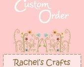 Custom Order for Leinad2011