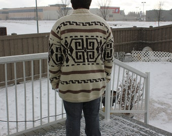The Dude's Sweater is Back, The Big Lebowski The Dude Wool Cardigan Men's Style Cardigan, Made To Order