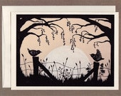 Harvest Moon - Greeting Card